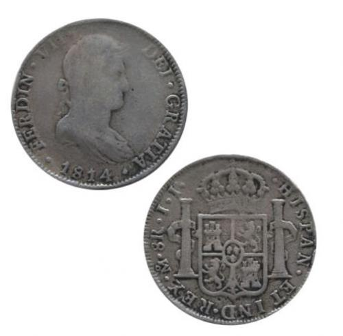 8 reales 1814