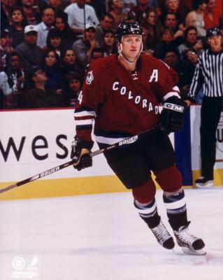 Rob Blake 8x10 Avalanche photo