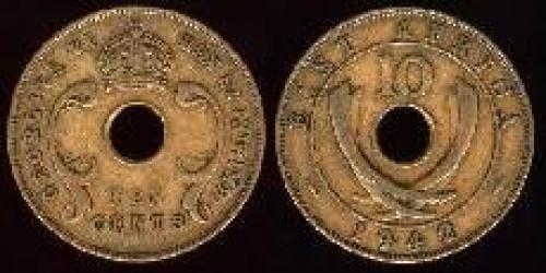 10 cents; Year: 1942-1952; (km 26.2); thin flan