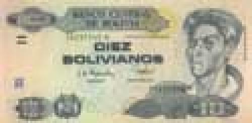 10 bolivianos; Bolivian banknotes