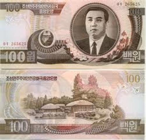 Banknotes; North Korean; 100 Won