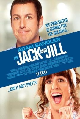 Jack and Jill mini movie poster (Adam Sandler)