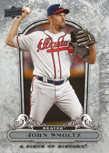 2008 UD A Piece of History #7 ~ John Smoltz