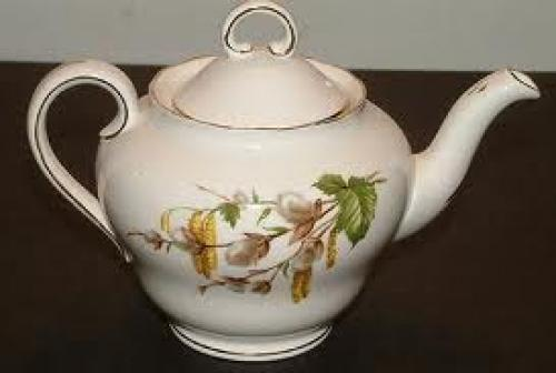 Antique White Adderley Tea Pot
