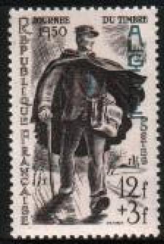 Stamp Day 1v; Year: 1950