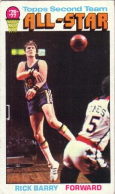 Rick Barry 1976-77 Topps card #132 ExMt