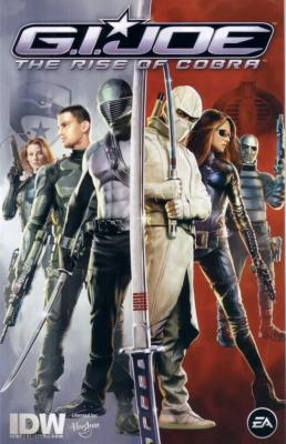 G.I. Joe movie 2009 Comic-Con promo comic book MINT
