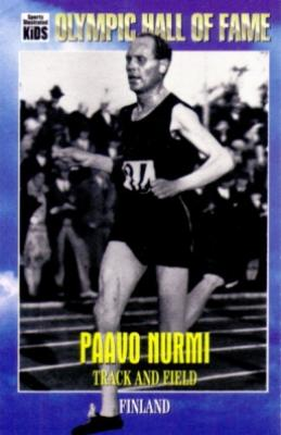 Paavo Nurmi Olympic Hall of Fame Sports Illustrated for Kids card