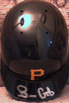 Brian Giles autographed Pittsburgh Pirates mini helmet