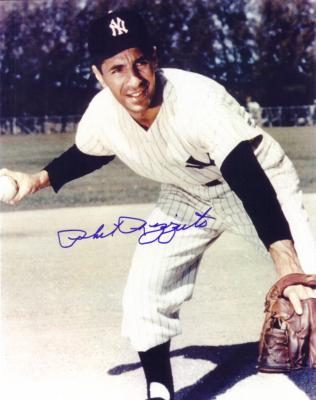 Phil Rizzuto autographed New York Yankees 8x10 photo