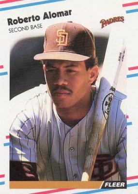 Roberto Alomar 1988 Fleer Update Rookie Card #U122 MINT