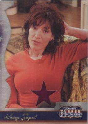 Katey Sagal worn blouse swatch Donruss Americana card #235/250
