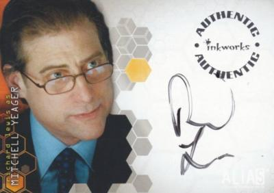 Richard Lewis Alias certified autograph card