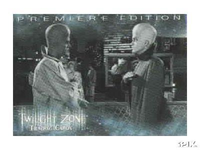 Twilight Zone 1999 Rittenhouse promo card P-1