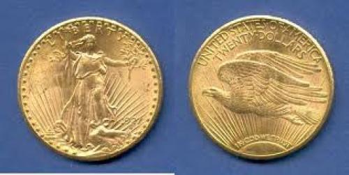Coins; USA Double Eagle (St. Gaudens Type), Gold 20 Dollars 1927 Stempelglanz