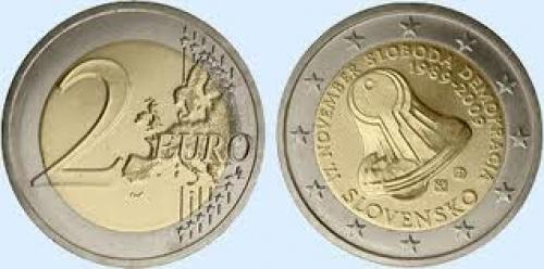 Coins; The first €2 commemorative slovakian coin