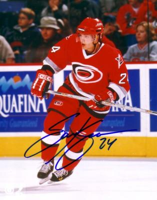 Sami Kapanen autographed 8x10 Carolina Hurricanes photo
