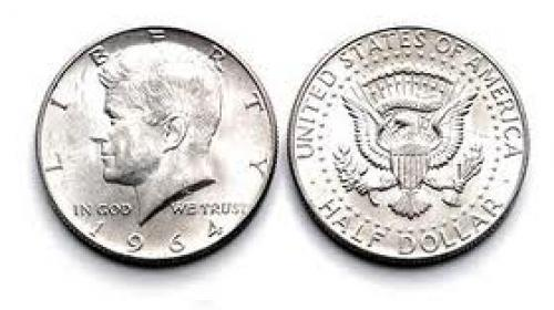 Coins; Half Dollar Coin; USA
