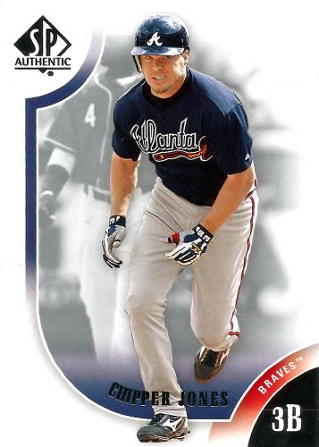 2009 SP Authentic #95 ~ Chipper Jones