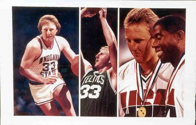 Larry Bird autographed Boston Celtics Start to Finish lithograph UNFRAMED #526/600