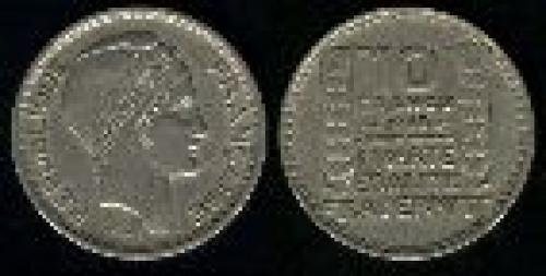 10 francs; Year: 1945-1949; (km 909.1)
