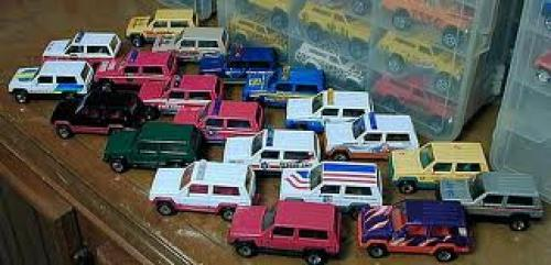Jeeps; All Kinds