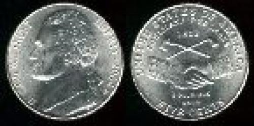 5 cents; Year: 2004; Louisiana. Purchase