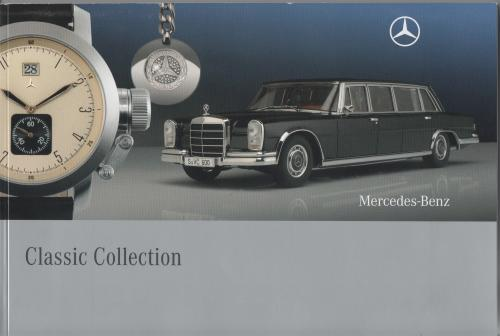 brochure MERCEDES BENZ Classic Collection 2003