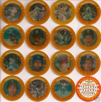 1986 Slurpee 7-11 East 16 baseball coin set MINT (Cal Ripken Nolan Ryan Mike Schmidt)