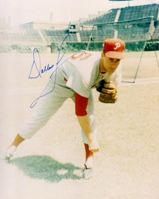 Dallas Green autographed 8x10 Philadelphia Phillies photo
