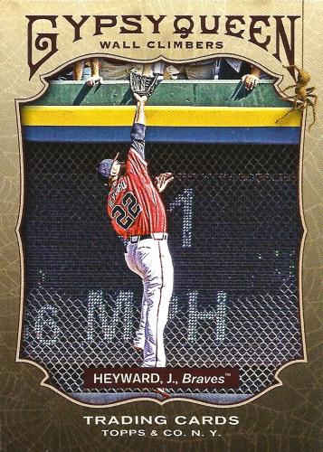 2011 Topps Gypsy Queen Wall Climbers #WC9 ~ Jason Heyward