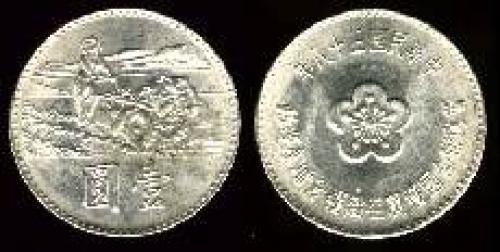 1 yuan; Year: 1969; (km y#547)