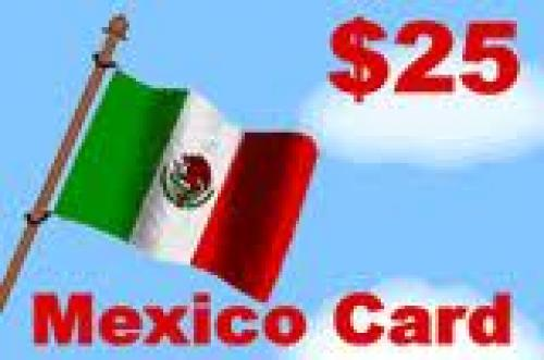 Mexican Phone card