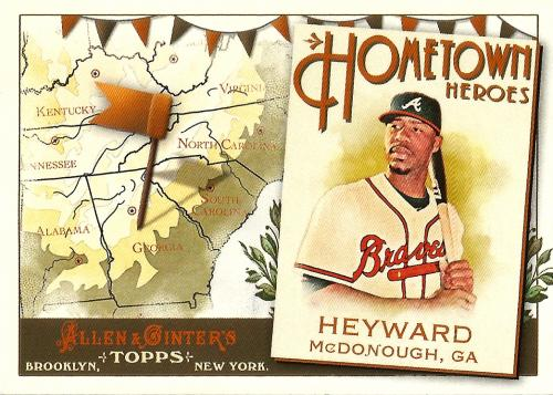 2011 Topps Allen & Ginter Hometown Heroes #HH11 ~ Jason Heyward
