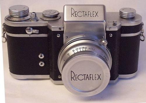 Vintage VERY RARE Rectaflex Italian SLR 35mm Camera