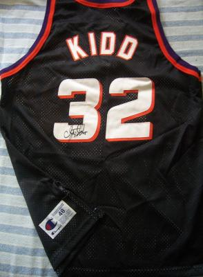 Jason Kidd autographed Phoenix Suns authentic game jersey