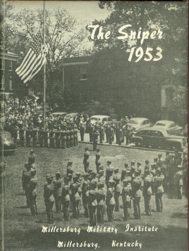 1953 Millersburg Military Institute