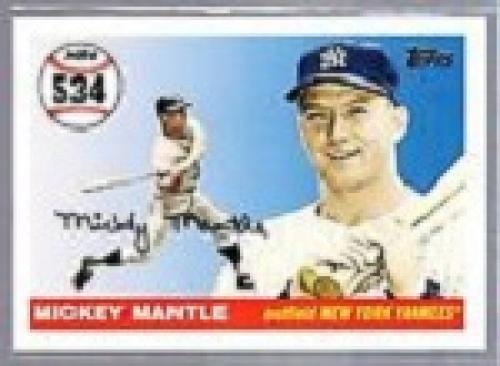 2008 Mickey Mantle Baseball Card