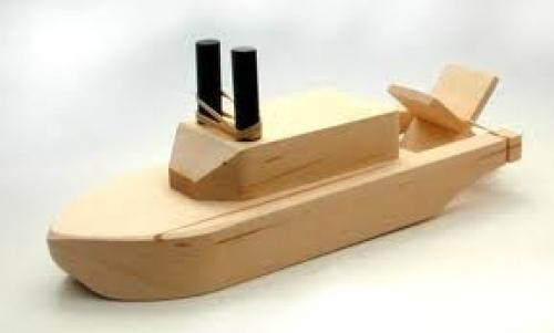 toy wooden boats