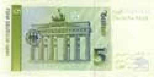 Germany,  Federal   Republic; 5 Deutsche Mark; Issue of 1991