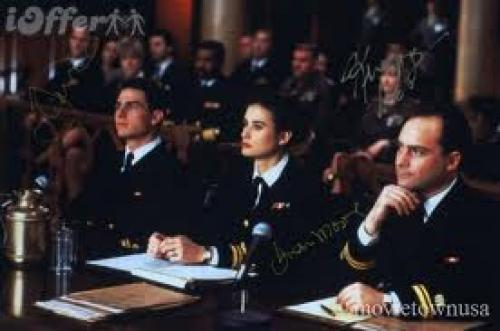 A FEW GOOD MEN (1992) Memorabilia signed by Tom Cruise