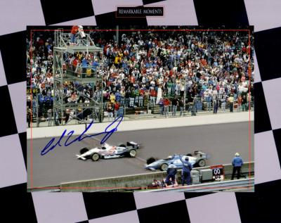 Al Unser Jr. autographed 1992 Indy 500 8x10 photo