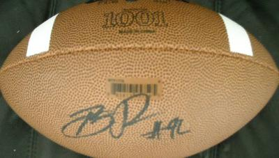Brian Price (UCLA) autographed Wilson NCAA football