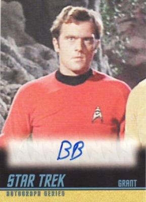 Bob Bralver Star Trek certified autograph card