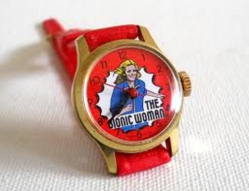 Watches; Vintage 1970s Bionic Woman Wrist Watch from elasvintageliving