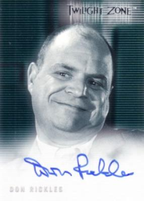 Don Rickles certified autograph Twilight Zone card