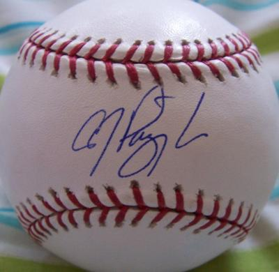 A.J. Pierzynski autographed MLB baseball