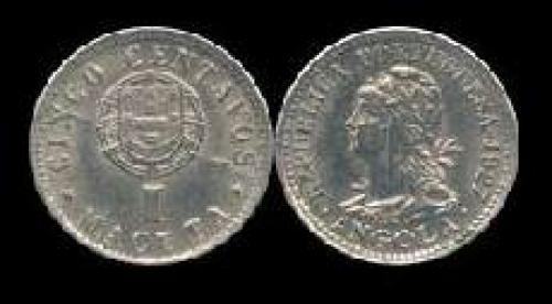 5 centavos; Year: 1927; (km 66); 1 Macuta