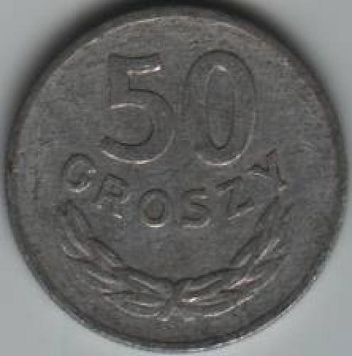 Coins; Poland 50 Grosz 1970