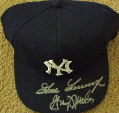 Goose Gossage &amp; Graig Nettles autographed New York Yankees cap